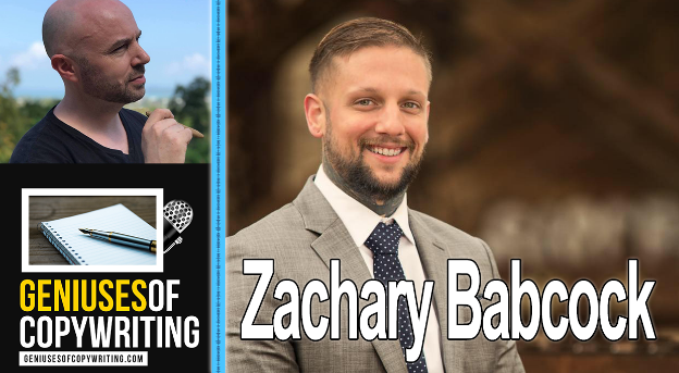 Geniuses of copywriting podcast with Zachary Babcock