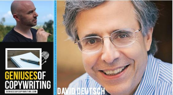 Geniuses of copywriting podcast with David Deutsch